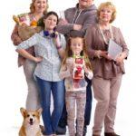Современные франко-американские семьи