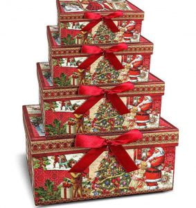 упаковка для новогодних подарков